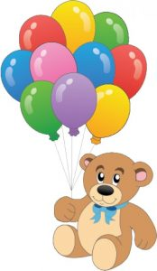 teddy-bear-with-colorful-balloons-vector_656335